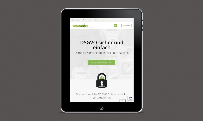 DSGVO-STRATandGO I Webdesign, Wordpress, Full Responsive, Googel Ads