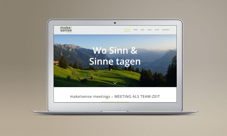 Make!Sense Meetings I Webdesign, Konzeption, SEO, Wordpress