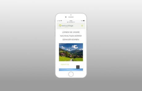 Rent a Village by xnet I Webdesign, Full Responsive