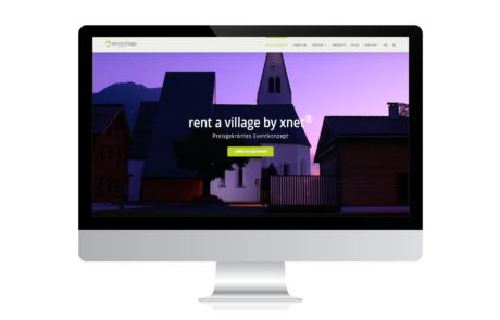 Rent a Village by xnet I Webdesign