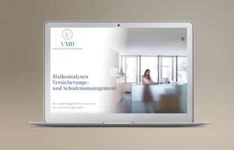 VMB Versicherungsmakler I Webdesign, Wordpress, Full Responsive, SEO